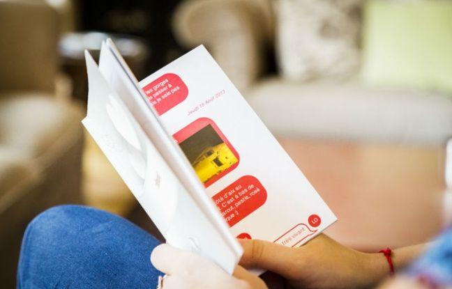 Avec Textolife, vos échanges par SMS sont immortalisés sur papier.