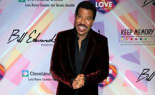 Le chanteur Lionel Richie