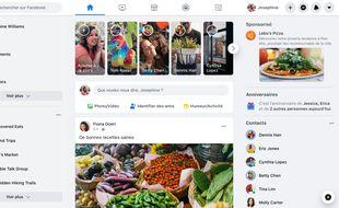 La nouvelle version web de Facebook est disponible pour tout le monde