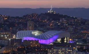 Marseille, son stade Vélodrome et sa «bonne mère».