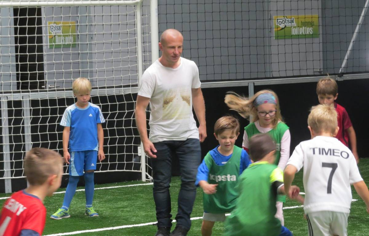 Florent Balmont va entraîner des enfants toutes les semaines – F.Launay / 20 Minutes