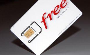 Free Mobile a dévoilé ses cartes SIM lundi 9 janvier 2012 sur Internet.