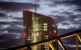 Le siège de la banque centrale européenne à Francfort.