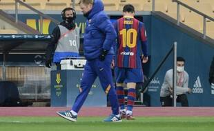 Lionel Messi poussé vers la sortie à Barcelone.