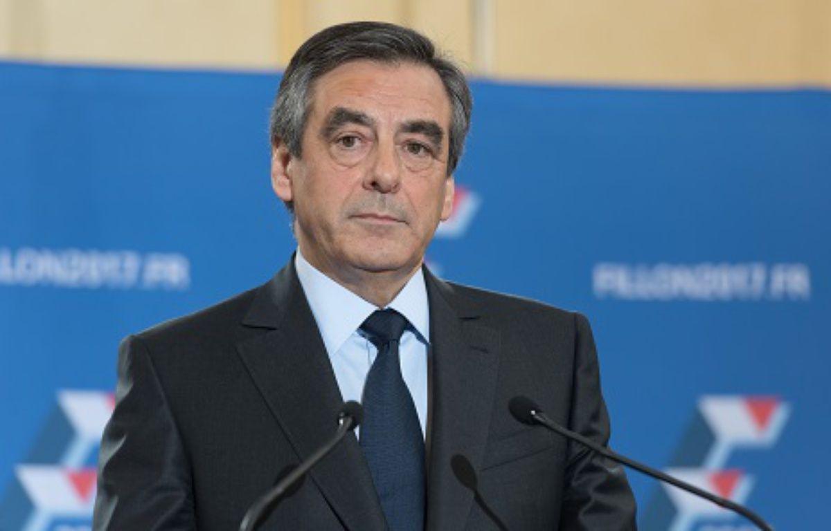 François Fillon, candidat de la droite et du centre à la présidentielle – WITT/SIPA