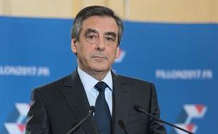 François Fillon, candidat de la droite et du centre à la présidentielle