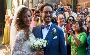 Emilie Broussouloux et Thomas Hollande se sont mariés le 8 septembre 2018 en Corrèze