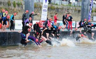 Les nageurs s'élanceront comme d'habitude depuis le ponton d'honneur.