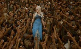 Daenerys (Emilia Clarke) parvient à faire libérer les esclaves de Yunkaï dans «Game of Thrones».