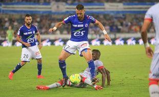 Football: EN DIRECT. Course à la Ligue 1: Pluie de buts dans ce multiplex Ligue 2, Strasbourg fait du sur place, Amiens et Troyes foncent