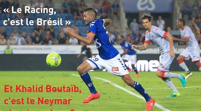 Khalid Boutaïb, le nouveau Neymar alsacien, maintenant que le Racing se met à jouer à la brésilienne ? – G. Varela / 20 Minutes.