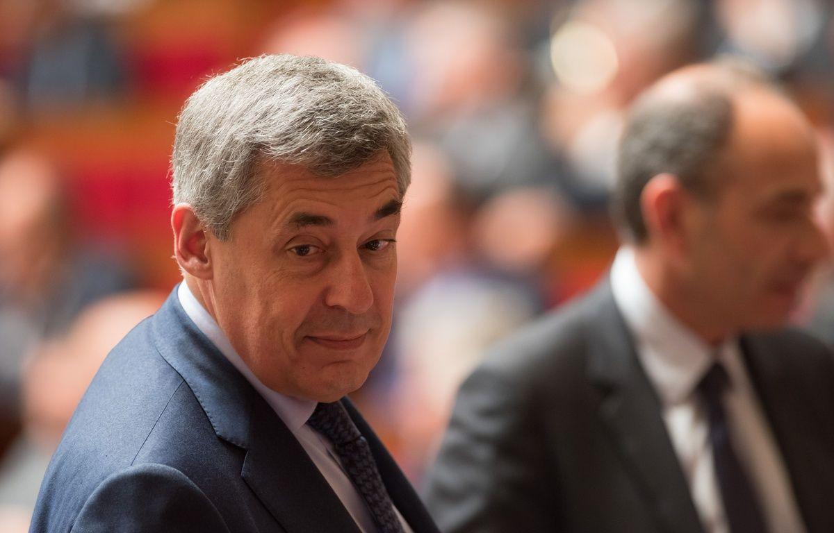 Henri Guaino, député LR, le 5 mai 2015 à l'Assemblée nationale à Paris. – WITT/SIPA