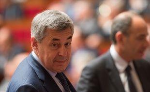 Henri Guaino, député LR, le 5 mai 2015 à l'Assemblée nationale à Paris.