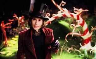L'acteur Johnny Depp dans «Charlie et la chocolaterie»