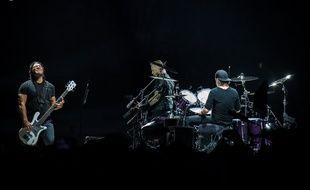 Le groupe Metallica