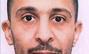 Portrait d'archives non daté de Brahim Abdeslam l'un des jihadistes du Bataclan