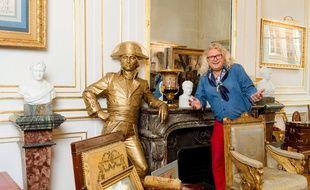 Pierre-Jean Chalençon collectionne les objets liés à la période impériale.