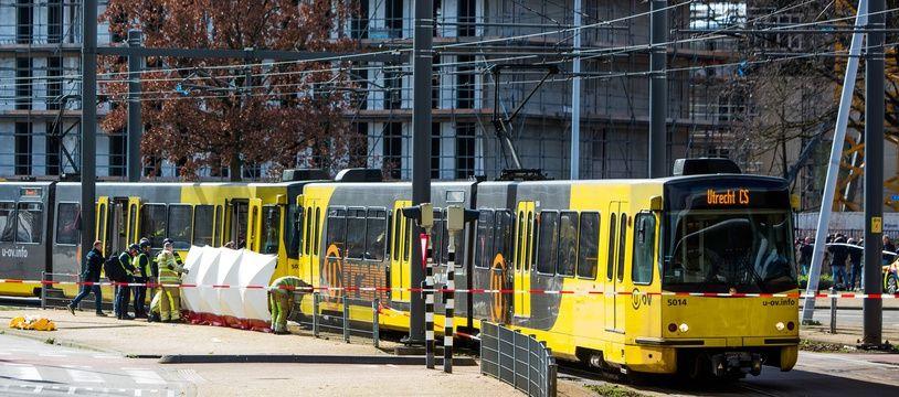 C'est dans le tramway d'Utrecht que l'attentat a eu lieu lundi 18 mars.