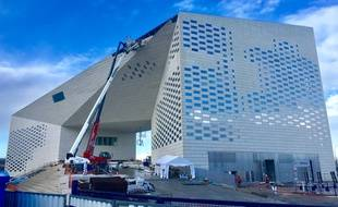 La Méca, Maison de l'Economie créative et culturelle de Nouvelle-Aquitaine, à Bordeaux, doit être livrée fin juin 2019.