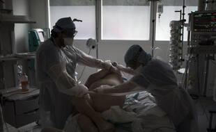 Des soignants de la Timone pendant l'épidémie de coronavirus