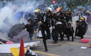 Les débordements à Hong Kong