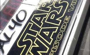 "Le clap du tournage de ""Star Wars Episode VII"""