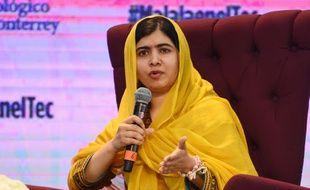 Malala Yousafzai à Mexico, le 31 août 2017.