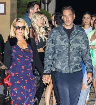 Paris Hilton et Carter Reum, le 31 mai, à Nohu.