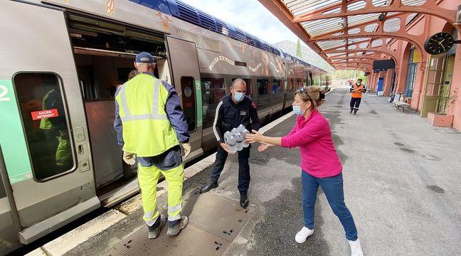 Les habitants de la vallée de la Roya vont pouvoir reprendre le train