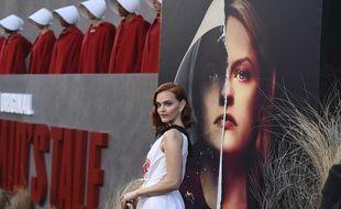 L'actrice Madeline Brewer figure à l'écran dans l'adaptation en série de «La Servante écarlate».