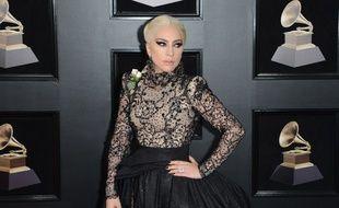 La chanteuse Lady Gaga aux Grammy Awards 2018