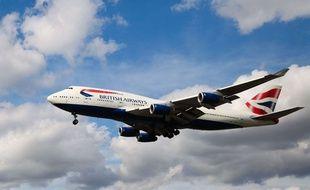 Un Boeing 747 de la compagnie British Airways. Dinendra Haria/Shutters/SIPA