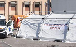Au CHU de Montpellier, au mois de mars (Archives)