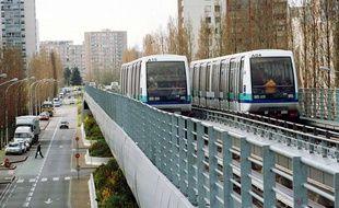 Le métro de Rennes en 2002.