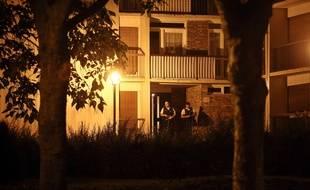 Opération antiterroriste à Boussy-Saint-Antoine (Essonne), le 8 septembre 2016.