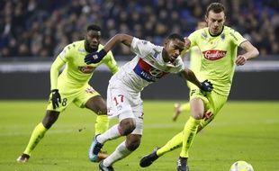 Titularisé pour la première fois de sa carrière en Ligue 1, Myziane Maolida n'a pas su se montrer convaincant à la pointe de l'attaque.
