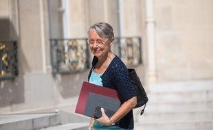 La nouvelle ministre du Travail, Elisabeth Borne.