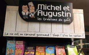 Le groupe Danone a annoncé mardi être en négociations exclusives pour acquérir une part minoritaire de 40% dans le capital de la société Michel et Augustin