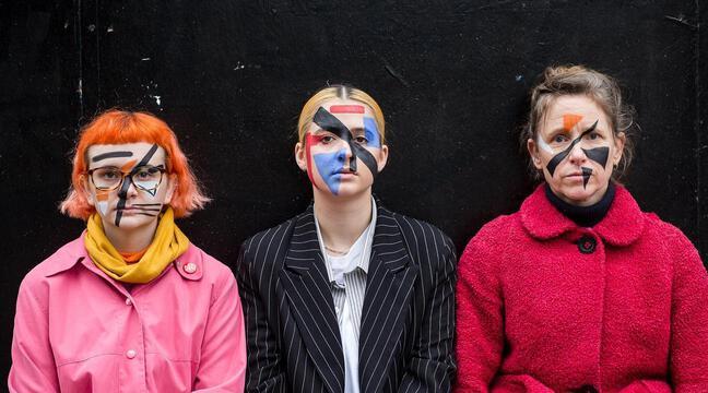 Le maquillage « camouflage » devient une arme anti-surveillance à Londres