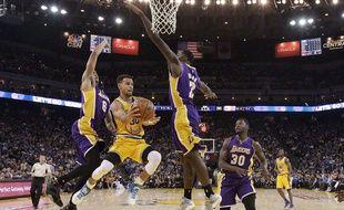 Stephen Curry contre les Lakers, le 24 novembre 2015