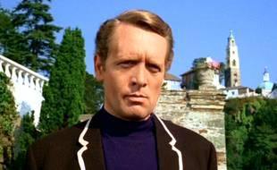 Patrick McGoohan, alias « Numéro 6 » dans la série culte «Le Prisonnier ».