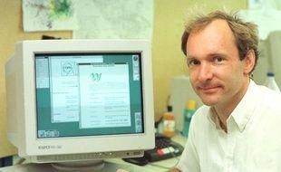Tim Berners-Lee, inventeur du WorldWideWeb.