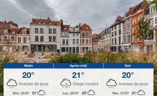 Météo Lille: Prévisions du samedi 24 juillet 2021