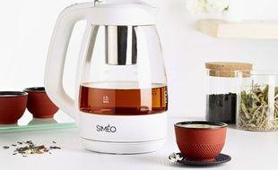 Café ou thé? Les bouilloires nous accompagnent toute la journée.