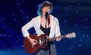 Camille Hardouin dans «The Voice».