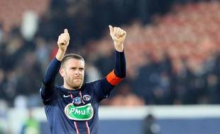 Le défenseur du PSG SylvainArmand, le 23 janvier 2013, contre Toulouse.