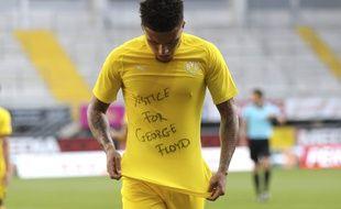 Le joueur du Borussia Dortmund, Jadon Sancho