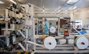 La PME Kolmi-Hopen, près d'Angers, est l'un des quatre fabricants de masques FFP2 en France.