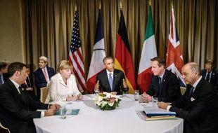 Des leaders mondiaux au sommet du G20, le 16 novembre 2015 à Antalya en Turquie