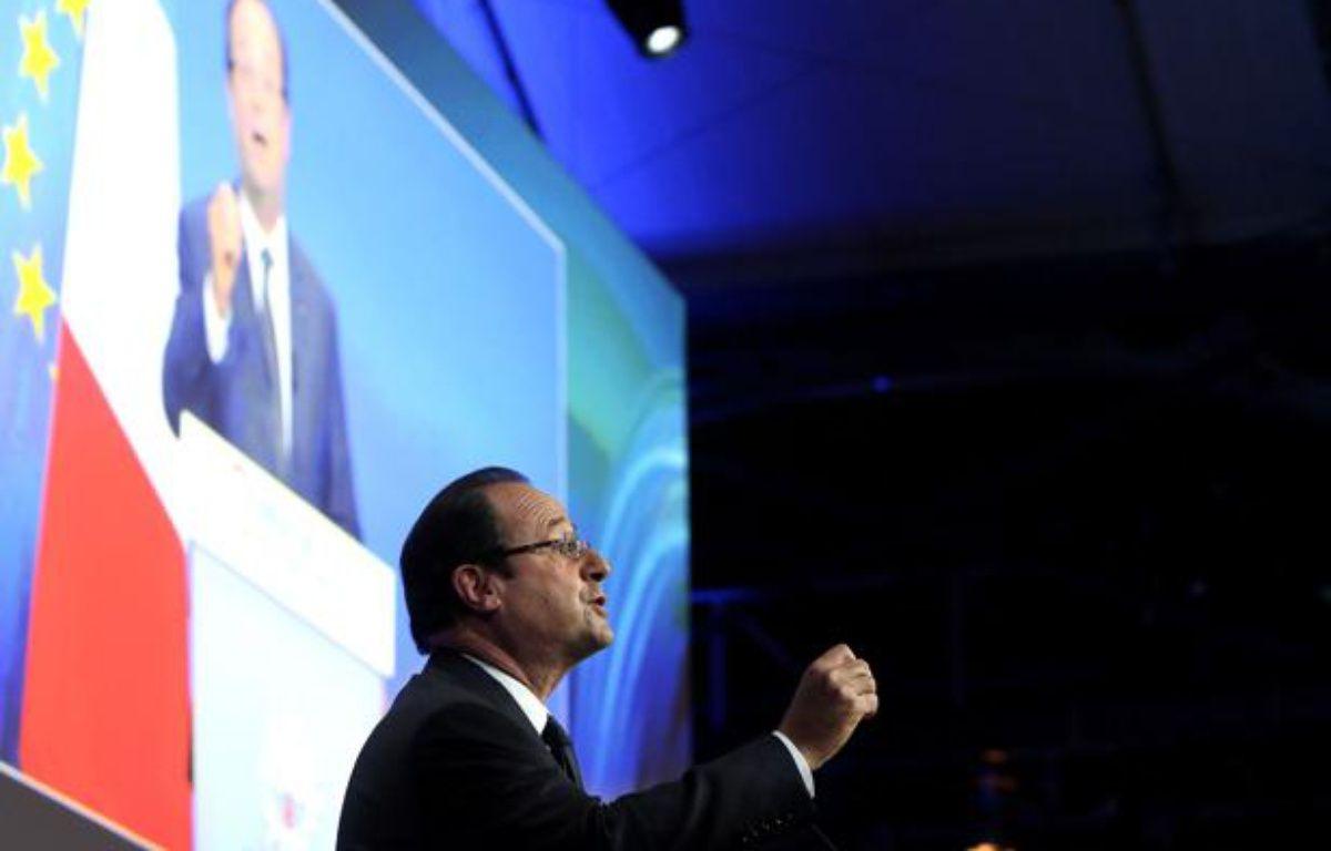François Hollande le 2 décembre 2013 à la conférence «Innovation 2030» – LEMOUTON-POOL/SIPA/SIPA